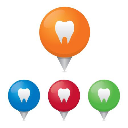 heath: Tooth or Dental Map Markers