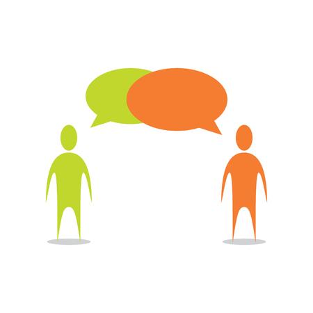 people: People Talking Illustration