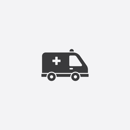 harm: Ambulance Icon Illustration