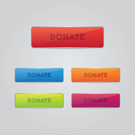 aiding: Set of Donate Buttons