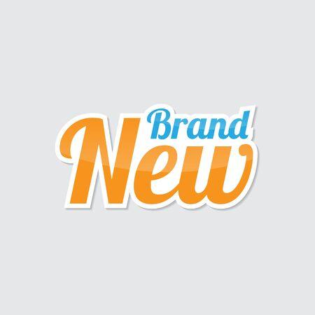 Brand New Sticker Labels