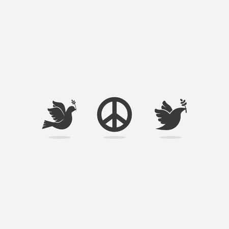 Peace Symbols Ilustração