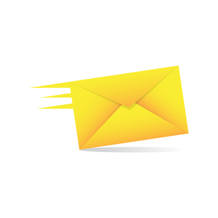 Speedy Mail Delivery Vector Illustration