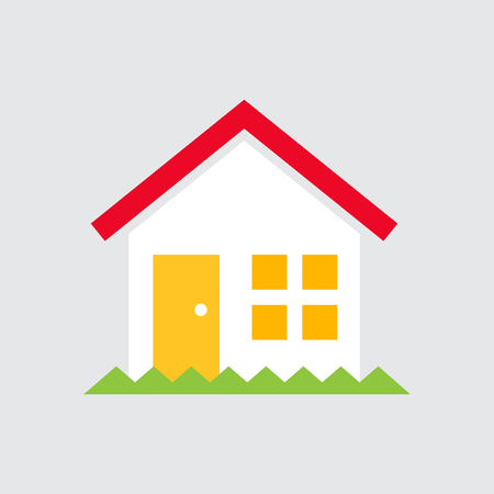 Simple House Vector Illustration Stock Illustratie