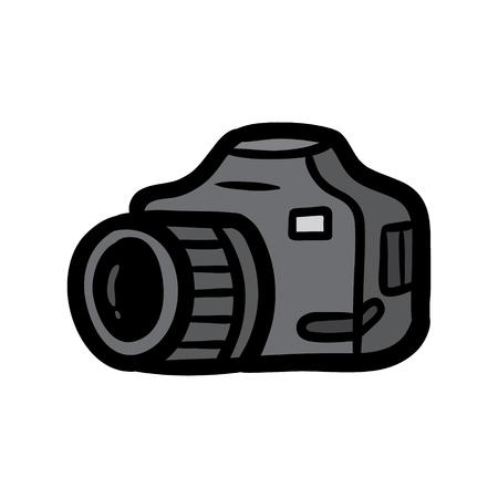 Cartoon Camera Vector Illustration