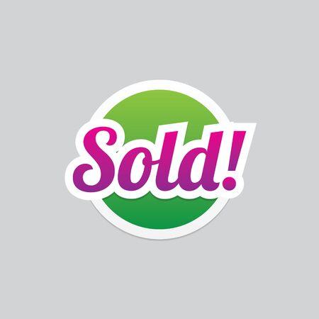 Sold Label Vector Eps10
