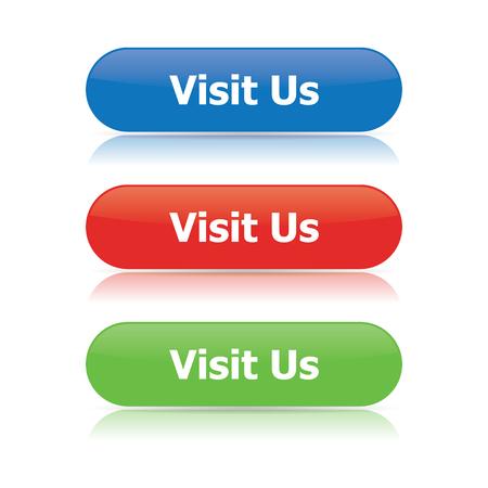 Visit Us Buttons Imagens - 73216517