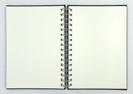 Blank Notebook Stock Photo - 6650218