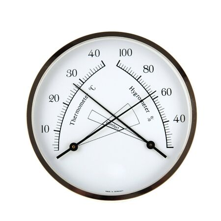 Hygrometer Stock Photo