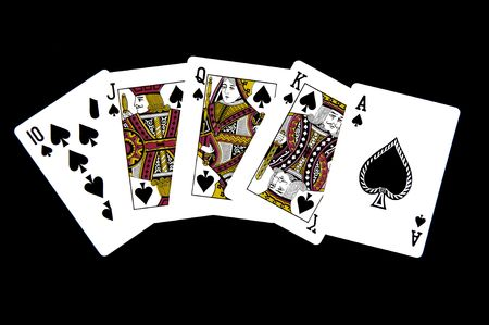 Royal Straight Flush Stock Photo - 6709103