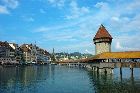 礼拝堂橋、スイス