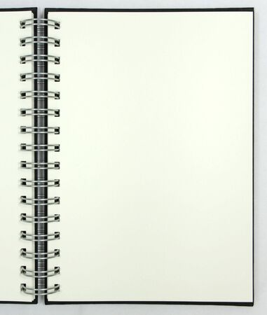 Blank notebook Stock Photo - 7294093