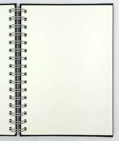 Blank notebook Stock Photo - 7294093