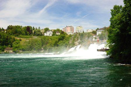 ライン滝、スイス