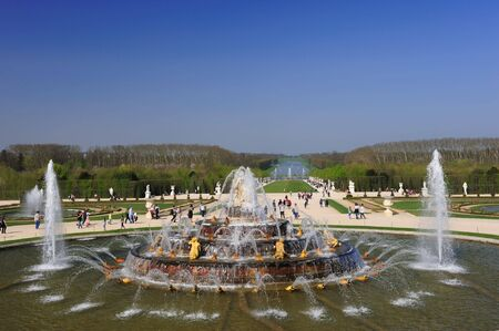 Fountain at Versailles Palace, France