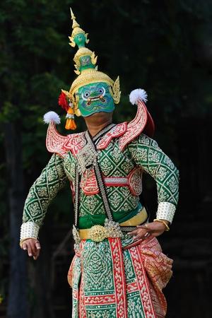 Khon, Thai Dance Stock Photo - 8325390