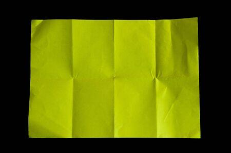 crumple: Yellow Crumple Paper