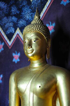 transcendental: Gold Buddha Image