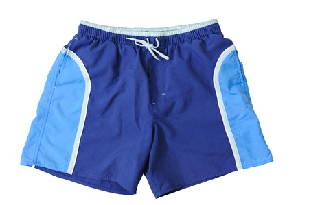 Blue Sport Shorts Stock Photo