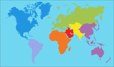 World Map Stock Photo - 9229450