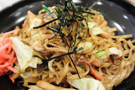 yakisoba: Fried Japanese Noodle, Yakisoba Stock Photo