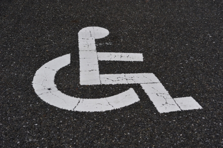 Handicap Sign photo