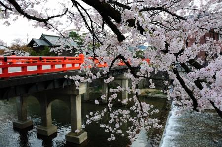 Nakabashi Bridge, Takayama, Japan