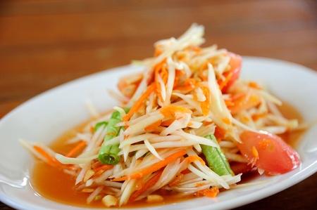 Somtum  Thai Style Papaya Salad