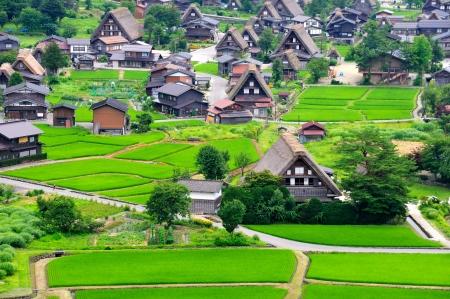 shirakawago: Shirakawago Village, Japan