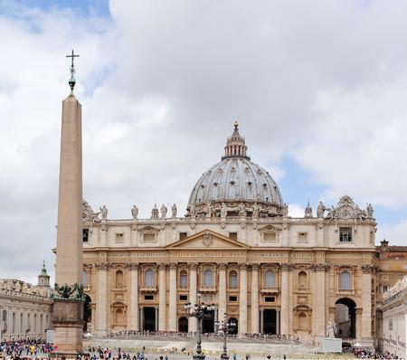 caput: St. Peter Basilica, Rome
