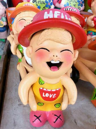 doll: Clay doll