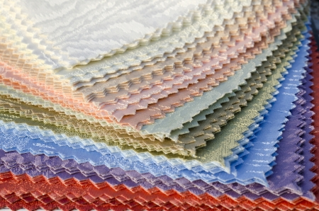 colourful curtain texure material