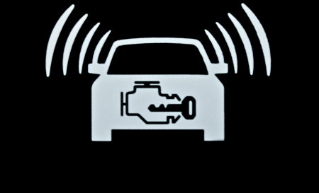sign not to talk by phone: Auto silent mode on this car label