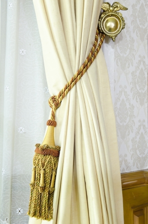 curtain tassel for interior decoration    photo