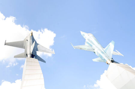 Air Force warplane monument, Problic monument in thailand