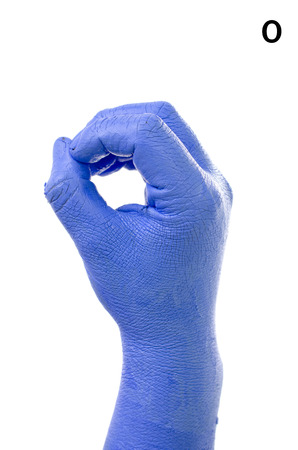 asl: Little Finger Spelling the Alphabet in American Sign Language  ASL   The Letter O