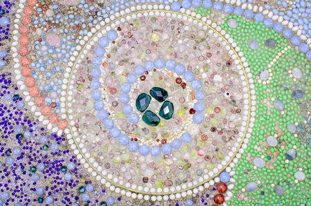 Colorful mosaic tiles as a background Stock Photo