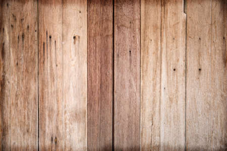 Old stack Wood wall background . Stock Photo