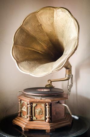 Klassische Interieur mit Grammophon