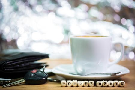 Times of coffee,Coffee break Stockfoto