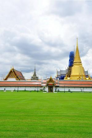 Grand palace in bangkok, thailand photo