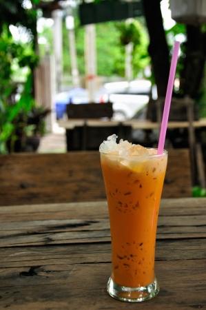 Milk Ice Tea  Stok Fotoğraf