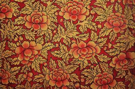 Retro floral background Stock Photo - 11111318