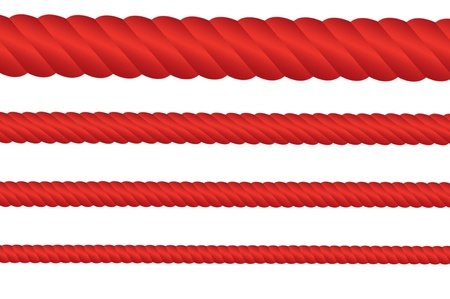 Red Rope Set