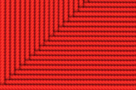 weaving: Red Weaving Rope Background
