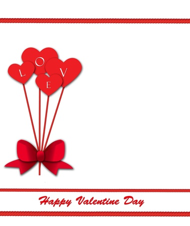 Heart Balloon Background photo