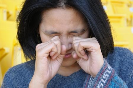 Crying Woman photo
