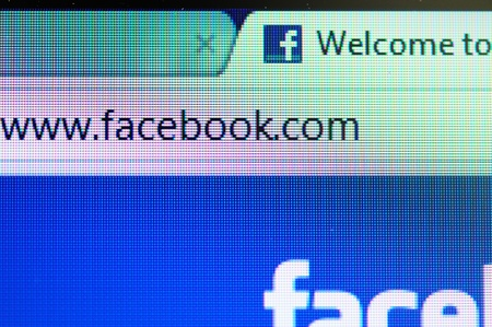 THAILAND - FEBRUARY 25 : Facebook website, the most popular social network for teenager and value advertising tools for marketing company in Thailand, February 25, 2012 in Bangkok, Thailand.  Stock Photo - 12339462