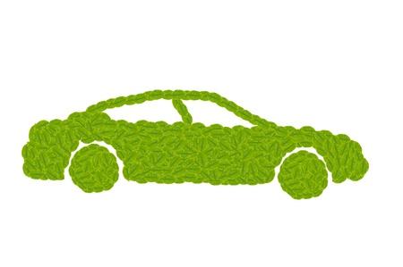 Eco Car for green concept Stock Photo - 14894814
