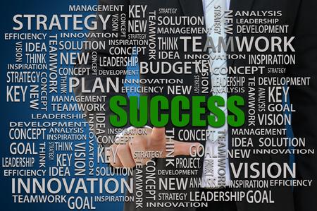 Successful Business Concept Stok Fotoğraf